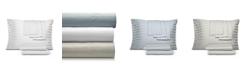 AQ Textiles CLOSEOUT! 800 Thread Cotton Blend Cool Comfort Stripe Queen 6-Pc. Sheet Set