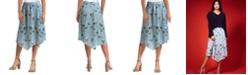 Gigi Parker Handkerchief Hem Skirt