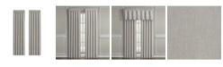 """J Queen New York Angeline 84"""" Window Panel Pair, 84"""" x 50"""""""
