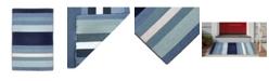 Liora Manne' Liora Manne Sorrento Tribeca Blue 2' x 3' Area Rug