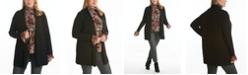 Adyson Parker Women's Plus Size Ribbed Long Sleeve Open Cardigan