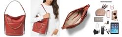 Michael Kors Reese Large Leather Shoulder Bag