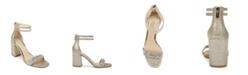 Jewel Badgley Mischka Women's Natala Block Heel Evening Sandal