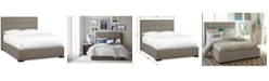 Furniture Casey Upholstered King Bed