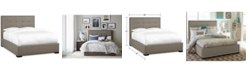 Furniture Casey Upholstered California King Bed