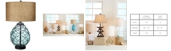 Kathy Ireland Pacific Coast Pacific Glass Table Lamp