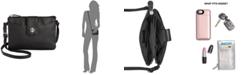 Giani Bernini Leather Softy Mini Accordion Crossbody, Created for Macy's