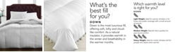 Hotel Collection CLOSEOUT! Medium Weight Siberian White Down Comforters, Hypoallergenic UltraClean Down, Created for Macy's