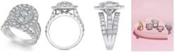 Macy's Diamond Ring (4 ct. t.w.) in 14k White Gold