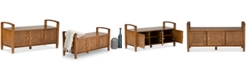 Simpli Home Burbank Storage Bench