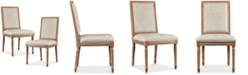 Madison Park Signature Joanne Set of 2 Dining Chairs, Quick Ship