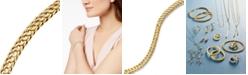 Macy's Circle Braided Bracelet in 14k Gold