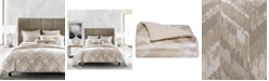 Hotel Collection CLOSEOUT! Distressed Chevron Bedding Collection, Created for Macy's