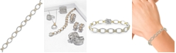 EFFY Collection Duo by EFFY® Diamond Tennis Bracelet (2 ct. t.w.) in 14k White and Yellow Gold