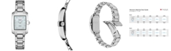 Seiko Women's Solar Dress Sport Diamond-Accent Stainless Steel Bracelet Watch 24mm
