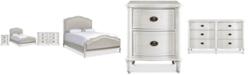 Furniture Carter Upholstered Bedroom Furniture Collection, 3-Pc. Set (Upholstered King Bed, Dresser & Nightstand)