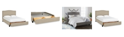 Furniture Cory Upholstered Storage Full Bed