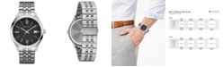 Caravelle  Men's Stainless Steel Bracelet Watch 41mm