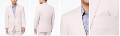 Sean John Men's Classic-Fit Stretch Pink Solid Suit Jacket