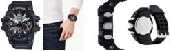 G-Shock Men's Analog-Digital Mud Master Black Resin Strap Watch 52mm