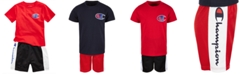 Champion 2-Pc. Heritage T-Shirt & Colorblocked Shorts Set, Toddler Boys