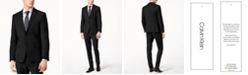 Calvin Klein Men's Skinny-Fit Infinite Stretch Black Suit Jacket