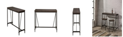 Hillsdale Trevino Counter Height Table Bar