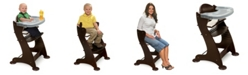 Badger Basket Unisex Embassy Adjustable Wood High Chair