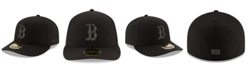 New Era Boston Red Sox Triple Black Low Profile 59FIFTY Fitted Cap