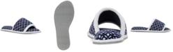 Dearfoams Women's Microfiber Terry Slide Slipper, Online Only