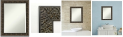 Amanti Art Intaglio Embossed 23x29 Bathroom Mirror
