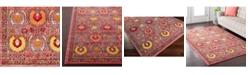 """Surya Anika ANI-1008 Bright Pink 18"""" Square Swatch"""