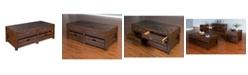 Sunny Designs Canyon Creek Kings Wood Coffee Table