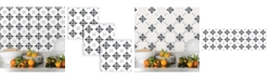 Brewster Home Fashions Ironwork Tile Decal Kit
