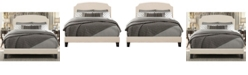 Hillsdale Desi Upholstered Queen Bed