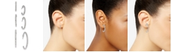 INC International Concepts INC 3-Pc. Set Pavé Hoop Extra Small Earrings , Created for Macy's