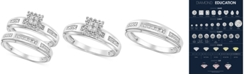 Macy's Diamond Accent Bridal Set in 14k White Gold or Yellow Gold