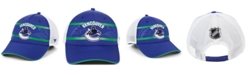 Authentic NHL Headwear Vancouver Canucks 2nd Season Trucker Adjustable Snapback Cap