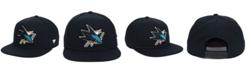 Authentic NHL Headwear San Jose Sharks Basic Fan Snapback Cap