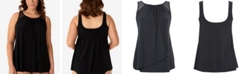 Miraclesuit Plus Size Mariella Tankini Top
