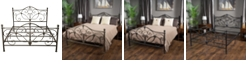 Noble House Cedric King Bed, Quick Ship