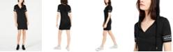 Michael Kors Logo Sleeve Hoodie Dress, Regular & Petite