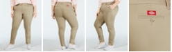 Dickies Trendy Plus Size Skinny Ankle Pants
