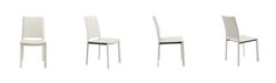 Euro Style Kate Dining Chair in Leatherette - Set Of 2