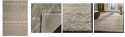 "Safavieh Arizona Shag Gray and Ivory 5'1"" x 7'6"" Area Rug"
