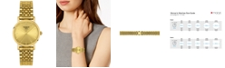 Tissot Women's Swiss T-Classic Everytime Gold-Tone PVD Stainless Steel Bracelet Watch 30mm