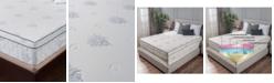 """Om Aloe 13"""" Medium Firm Mattress - King, Quick Ship, Mattress in a Box"""