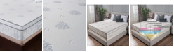 "Om Aloe 13"" Medium Firm Mattress - Queen, Quick Ship, Mattress in a Box"