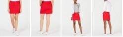 Dollhouse Juniors' Colored Denim Skirt