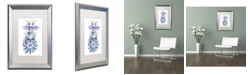 "Trademark Global Jennifer Nilsson Warm Wishes - Dragon Matted Framed Art - 11"" x 14"" x 0.5"""